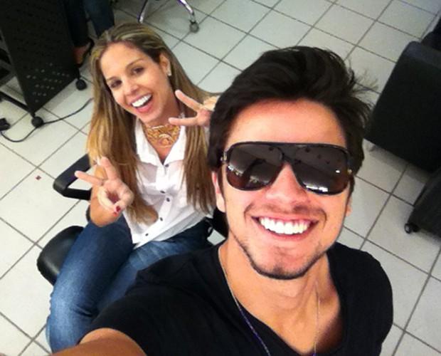 Rodrigo Simas (Foto: Domingão do Faustão/TV Globo)