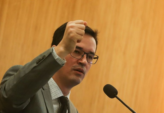 O procurador Deltan Dallagnol, da Lava Jato (Foto: Antonio Cruz/Agência Brasil)