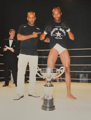 Anderson Silva Rafael Cordeiro Chute Boxe (Foto: Jason Silva)