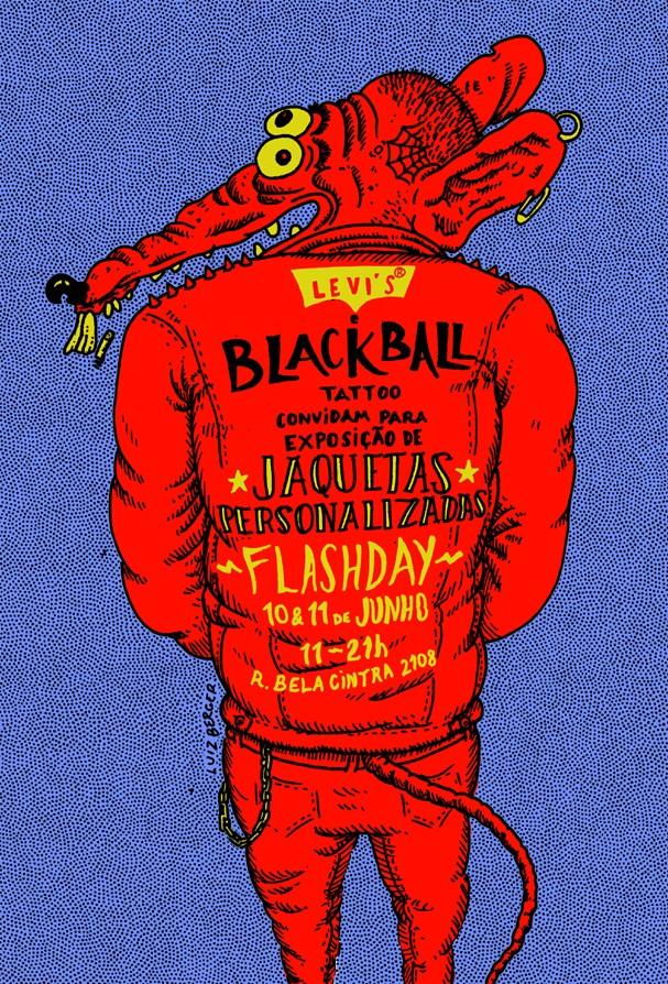 Levi's + BlackBallCrew (Foto: Divulgação)