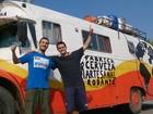Irmãos argentinos 'rodam' a América com cervejaria artesanal itinerante