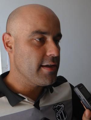 Cristian Ziane, técnico do Ceará Sub-20 (Foto: Leonardo Freire/GloboEsporte.com)