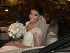 Veja fotos do casamento dos ex-BBBs Franciele Almeida e Diego Grossi