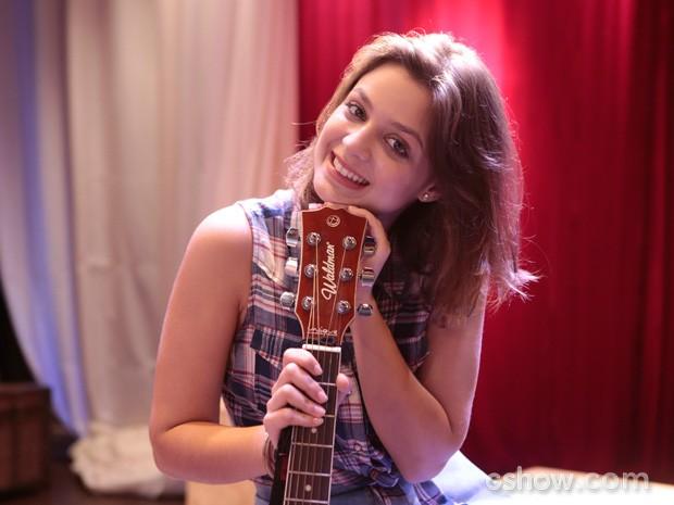 O papel de Mari foi adaptado para Maria Luiza interpretar (Foto: Felipe Monteiro / TV Globo)