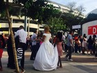 Maior casamento coletivo da história do Rio é realizado no Maracanãzinho