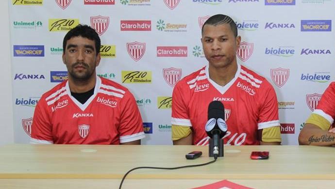 Val, André Luís e Diego Gaúcho reforços Mogi Mirim (Foto: Geraldo Bertanha / Mogi Mirim)