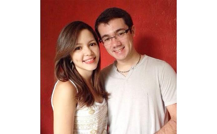 O casal Quézia Carvalho e Gustavo Morais utiliza aplicativos para namorar à distância (Foto: Arquivo pessoal)