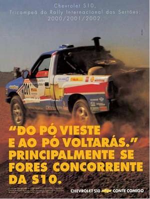 Propaganda Chevrolet (Foto: Reprodução)