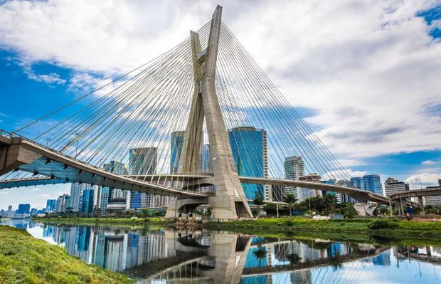 Estaiada Bridge in Sao Paulo, Brazil (Foto: Getty Images/iStockphoto)