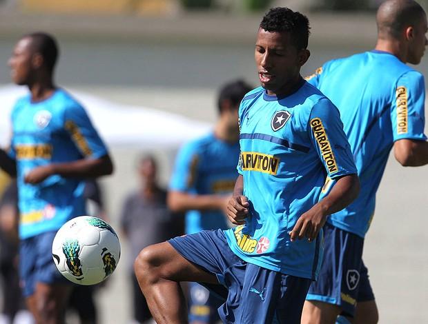 Vitor Junior treino botafogo (Foto: Jorge William / O Globo)
