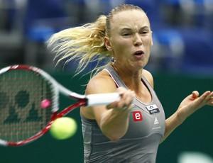 tênis Caroline Wozniacki wta de moscou (Foto: Agência Reuters)