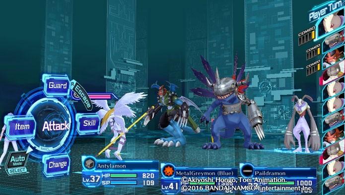 O sistema de combate é simples e funciona como em qualquer RPG por turno (Foto: Reprodução/Tais Carvalho)