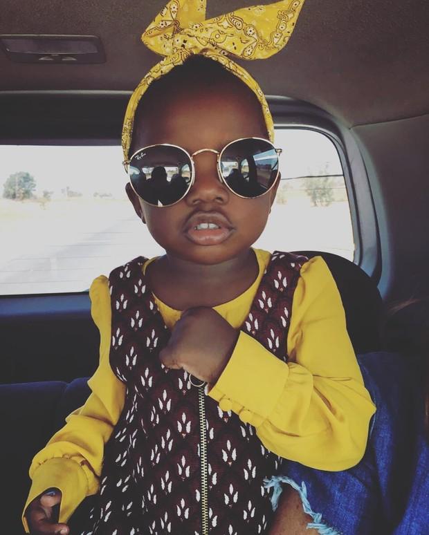 Criança que seria filha de Giovanna Ewbank e Bruno Gagliasso (Foto: Reprodução/Instagram)