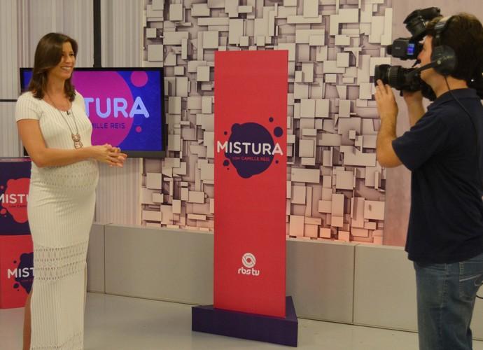 Camille Reis se despede e anuncia novidades no Mistura (Foto: Sandro Machado/Divulgação)