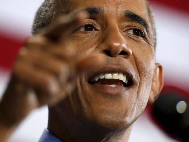 Obama destacou a 'experiência extraordinária' de Hillary Clinton (Foto: Jonathan Ernst/Reuters)