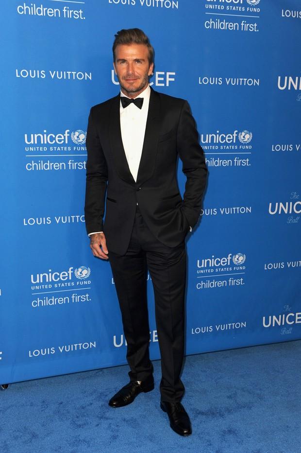 David Beckham em evento em Los Angeles, nos Estados Unidos (Foto: Joshua Blanchard/ Getty Images/ AFP)