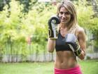 Giovanna Ewbank diz que segredo do tanquinho é o boxe: 'Mudou meu corpo'