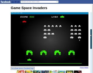Space Invaders para Facebook