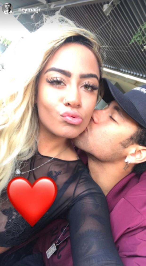 Rafaella e Neymar (Foto: Reprodução/Instagram)