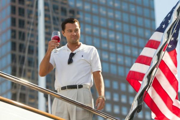 Leonardo DiCaprio em cena de 'O Lobo de Wall Street' (2013) (Foto: Reprodução)