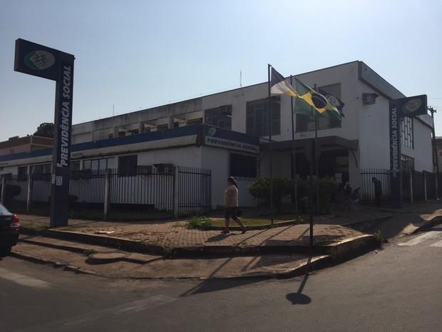 Agência do INSS em Araguaína (Foto: Divulgação)