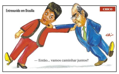 Charge (Foto: Chico Caruso)