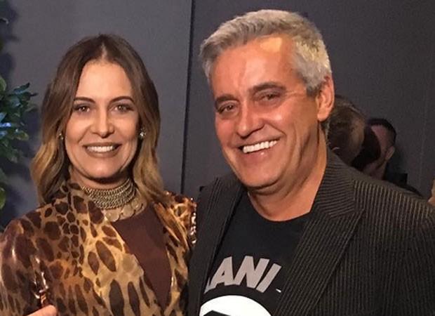 Patricia e Mauro Naves (Foto: Reprodução)