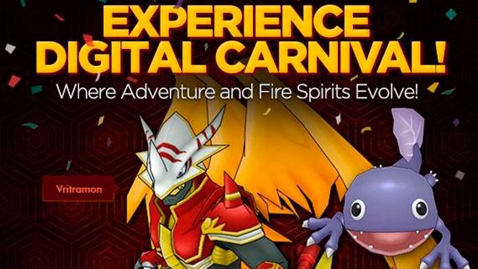 Participe dos eventos para ganhar itens e Digimons (Foto: Divulgação)