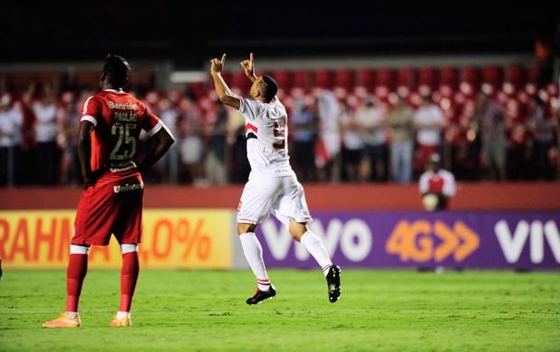 São Paulo x Internacional - gol Luiz Fabiano (Foto: Marcos Ribolli)