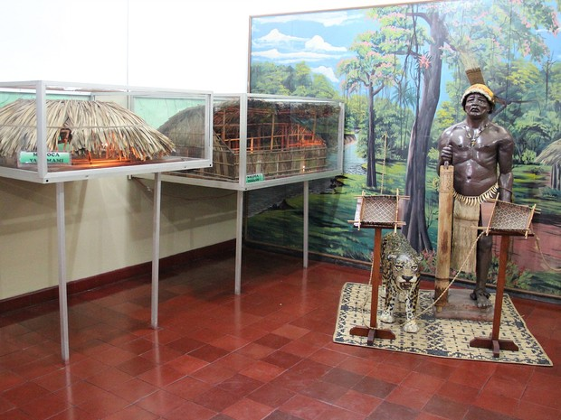 Museu do Índio foi inaugurado, em Manaus, no ano de 1952 (Foto: Indiara Bessa/G1 AM)
