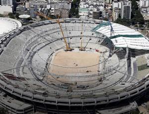 obras estádio maracanã  (Foto: Reuters)