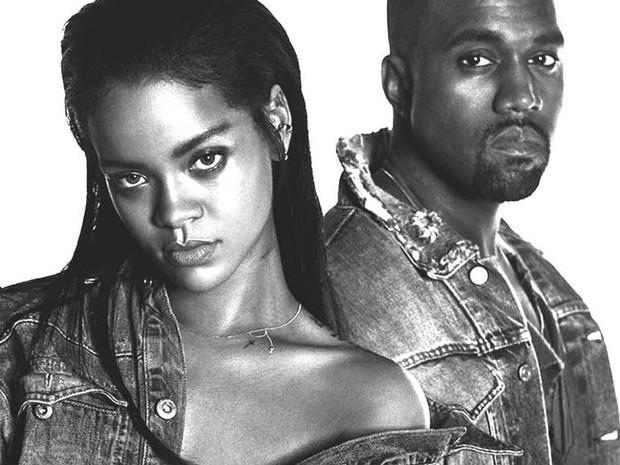 Rihanna Kanye West (Foto: Divulgao)