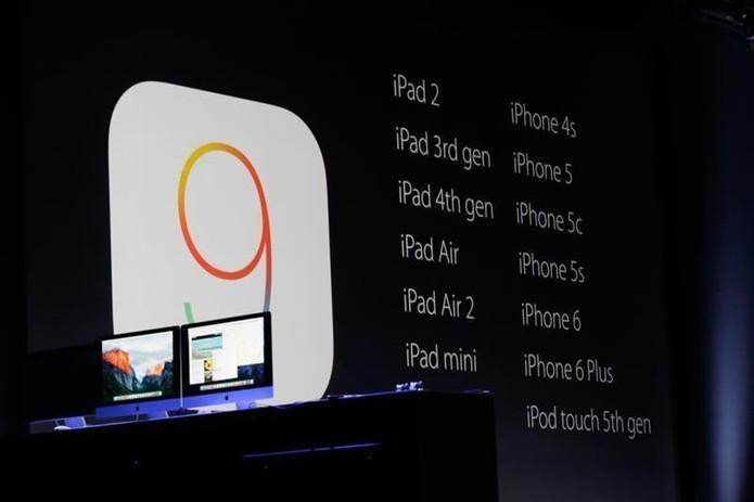Lista de aparelhos compatíves com iOS 9 (Foto: Fabricio Vitorino/TechTudo)