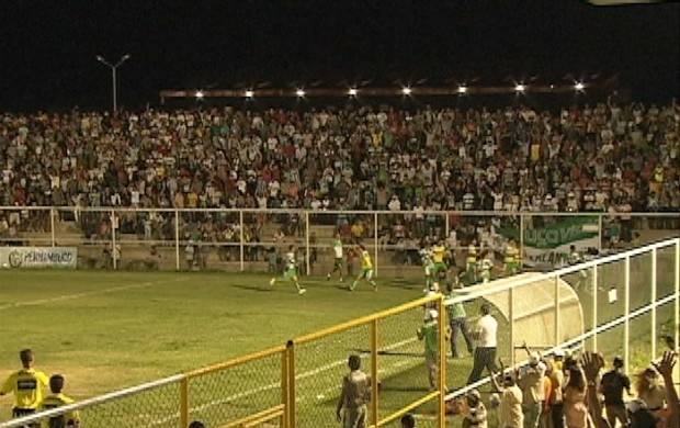 Torcida do Belo Jardim-PE (Foto: Reprodução / TV Asa Branca)