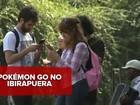 'Pokémon Go': Ibirapuera e Paulista ficam cheias de jogadores em 1º dia
