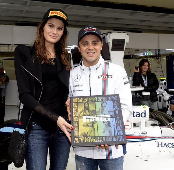 Isabela Fontana e Felipe Massa (Foto: Reprodução/Instagram)