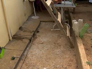 DESPERDICIO AGUA JF (Foto: Reprodução/TV Integração)