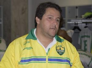 Fernando Marchiori, ex-técnico do Cuiabá (Foto: Pedro Lima/Cuiabá Esporte Clube)