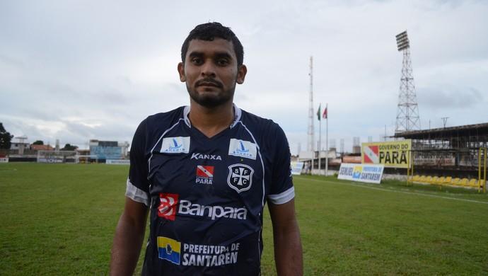 Nenê Apeú, atacante do São francisco (Foto: Weldon Luciano/GloboEsporte.com)