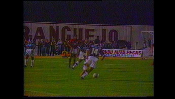 Flamengo e Fluminense no Estádio Amigão (Foto: Reprodução / TV Paraíba)