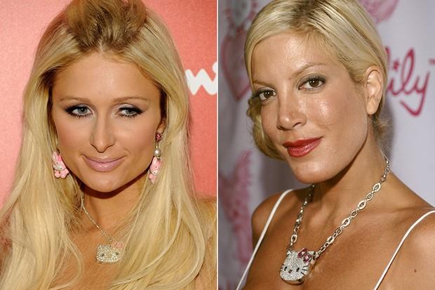 Paris Hilton e Tori Spelling (Foto: Getty Images)