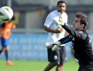 Marcelo Grohe, goleiro do Grêmio (Foto: Lucas Uebel/Divulgação, Grêmio)