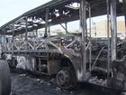 Ônibus é queimado no bairro de São Cristóvão, em Salvador