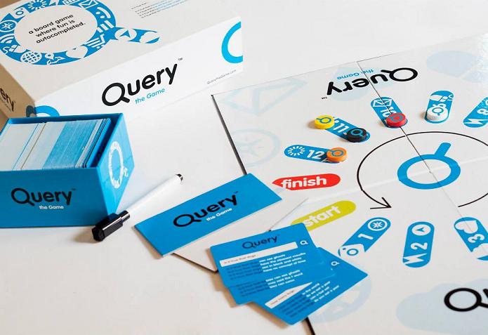 Query é um jogo de tabuleiro bem diferente (Foto: Divulgação)