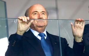 Blatter jogo Honduras x Equador (Foto: Reuters)