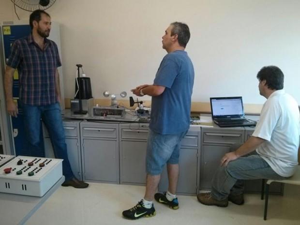 Projeto vai concorrer em Feira Tecnológica em São Paulo (Foto: Cláudio Nascimento/TV TEM)