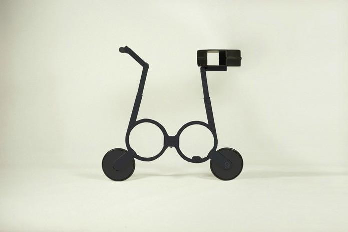 Criadores prometem produzir a bicicleta nas cores preta e branca (Foto: Reprodução/Gizmag)