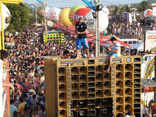 Praia do Presídio, Carnaval 2013, Multidão (Foto: Pedro Aryell/Mucuripe Club)