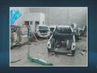 Policiais de Americana encontram desmanche de carros em Sumaré