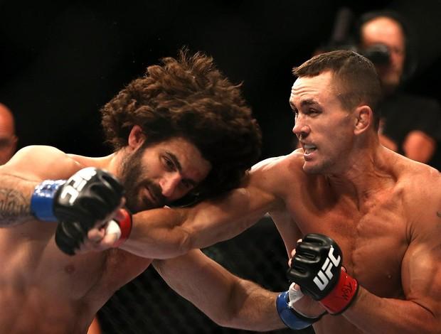 UFC  152 kyle noke e charlie brenneman (Foto: Agência Getty Images)